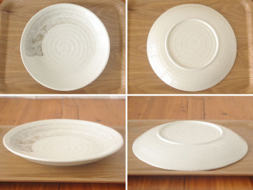 Japanese dinner plates, 23.5cm, 4 piece set
