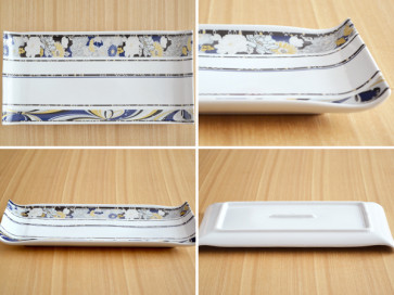 Rectangular tray 31cm two piece set