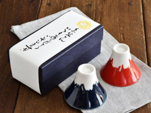 Mt. Fuji sake cup set