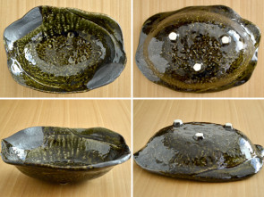ORIBE pebbly 30cm bowl